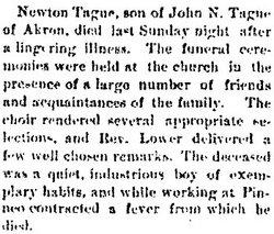 Newton F. Tague