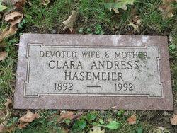 Clara <i>Graef</i> Andress Hasemeier