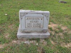 Jefferson Washington Jeff Henry