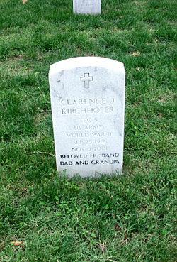 Clarence J Kirchhofer