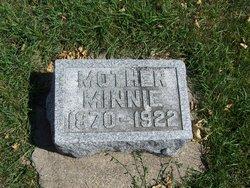 Wilhelmine L F Minnie <i>Busch</i> Blome