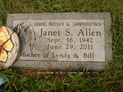 Janet Sue Flo <i>Edmonds</i> Allen