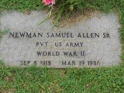 Newman Samuel Allen, Sr