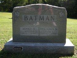 Minnie Monzella <i>Rogers</i> Batman