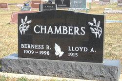 Berness Ruth Dobbie <i>Carlson</i> Chambers