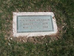 Ida May <i>Lyman</i> Anderson