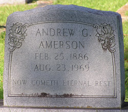 Andrew G Amerson