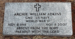 Archie William Adkins