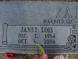 Janet Lois Faire