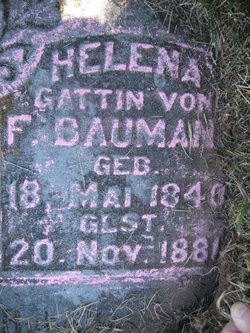 Helena <i>Croell</i> Baumann