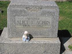 Alice E <i>Chabot</i> Achin