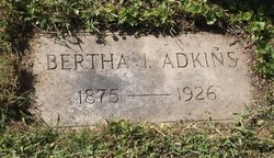 Bertha Isabelle <i>King</i> Adkins
