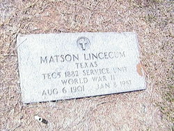 Matsom Lincecum
