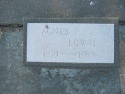 Agnus Florence <i>Finley</i> Lowry