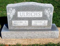 Hulda Anna <i>Wedeking</i> Ulrichs