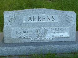Lorence F Jack Ahrens