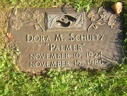 Dora M <i>Palmer</i> Schultz