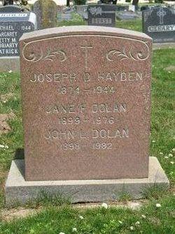 Jane Frances <i>Hayden</i> Dolan