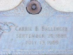 Carrie <i>Barton</i> Ballenger