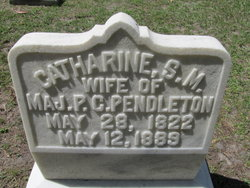 Catharine Sarah Melissa <i>Tebeau</i> Pendleton