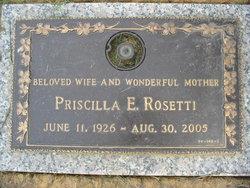 Priscilla E. Rosetti