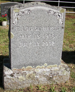 E. Louise Hayes
