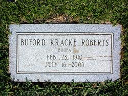 Buford <i>Kracke</i> Roberts