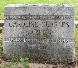 Caroline Thompson <i>Quarles</i> Harper