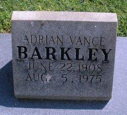 Adrian Vance Barkley