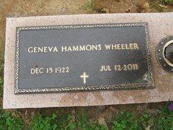Geneva <i>Hammons</i> Wheeler