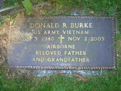 Donald R Burke