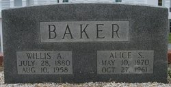 Alice <i>Strickland</i> Baker