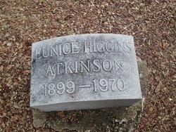 Eunice <i>Higgins</i> Atkinson