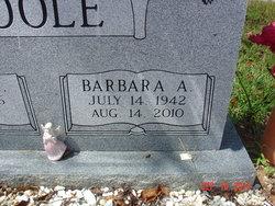 Barbara A <i>Shipp</i> Poole