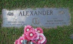 Helen Marie <i>Franklin</i> Alexander