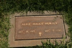 Alice <i>Haley</i> Hurley
