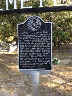Eagle Lake Masonic Cemetery
