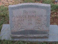 Ima Louise <i>Gann</i> Burleson