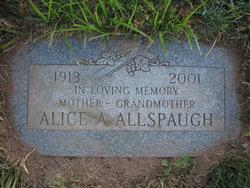 Alice A <i>Fahey</i> Allspaugh