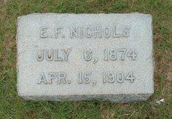 Edward F. Nichols
