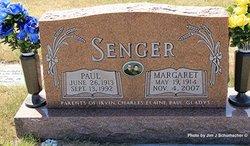 Margaret <i>Baumgartner</i> Senger
