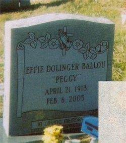 Effie Candis Peggy <i>Dolinger</i> Ballou
