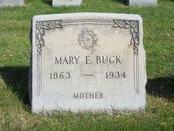 Mary Elizabeth Minnie <i>Garey</i> Buck