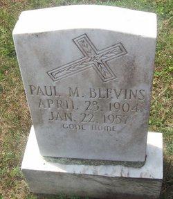 Paul McClellan Blevins