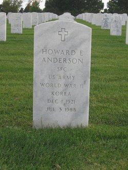 Howard E Anderson