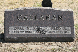 Frederick Joseph Fred Callahan