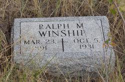 Ralph Melvin Winship