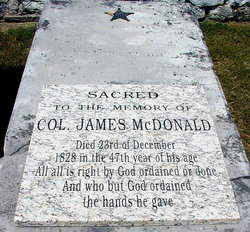 Col James McDonald