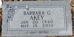 Barbara Gerline <i>Bilbrey</i> Akey
