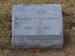 William Harvey Blackman